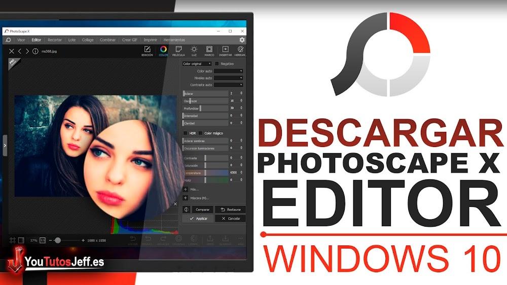 Increíble Editor de Imágenes, Descargar PhotoScape X Windows 10