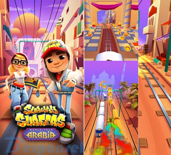 Download Game Android Terpopuler subway surfers