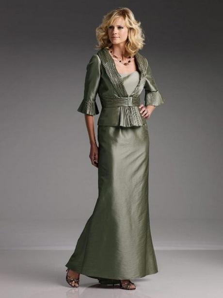 vestido de moda verde
