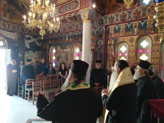 Νέος Καθηγούμενος της Ι. Μ. Αγίου Βλασίου Στυλίδος ο Πρωτοσύγκελλος π. Άγγελος Ανθόπουλος