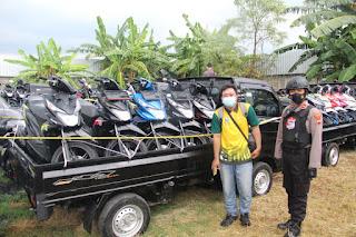 325 unit motor 41 mobil bodong diungkap polres pati