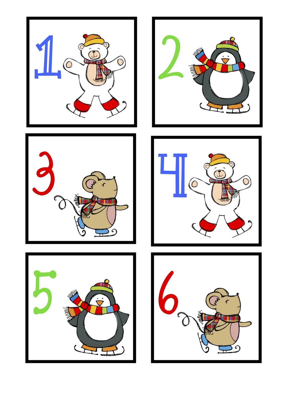 Kindergarten January Calander