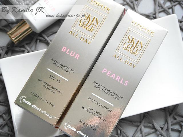 Floslek All Day Krem upiększający Blur serum rozświetlające Pearls