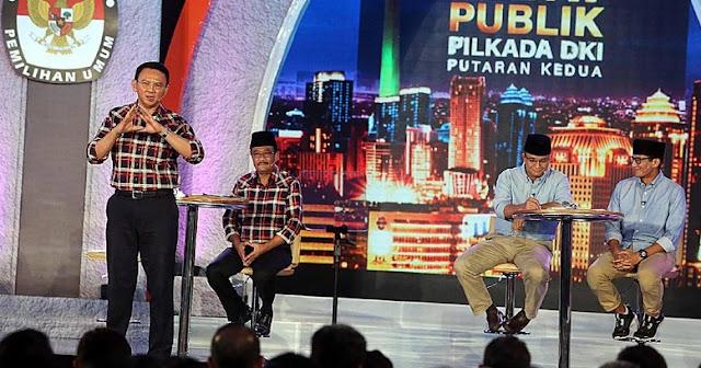 """Debat Final Pilgub DKI, AHOK Minta Maaf ke Warga dan berkata, """"Semoga Kita Melihat Jakarta Baru"""""""