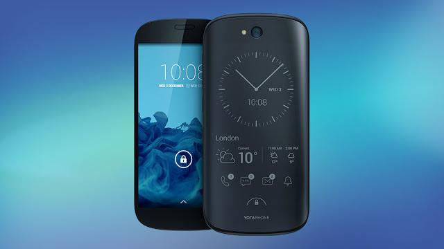 YotaPhone 2, Smartphone Dua Layar dari Rusia Hadir di Indonesia