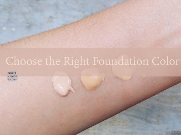 Cara Tepat Memilih Warna Foundation