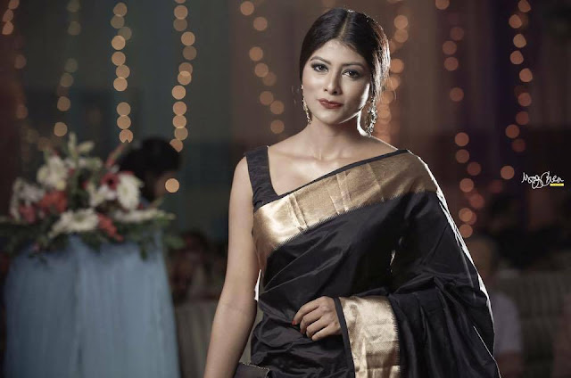 Mumtaheena Chowdhury Toya In Saree Photos