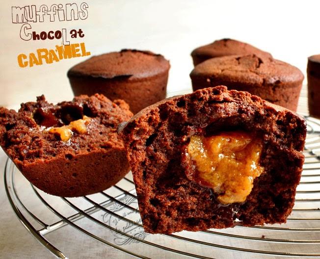 muffins caramel