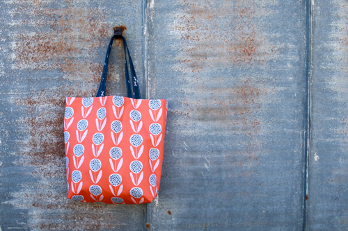 The Elemental Tote Pattern - In Color Order