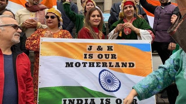 ஆஸ்திரேலியா: ஜம்மு-காஷ்மீரில் இருந்து 370 வது கட்டுரையை அகற்றுவதற்கான ஆதரவு, இந்திய வம்சாவளியைச் சேர்ந்தவர்கள் பேரணியை ஏற்பாடு செய்தனர்