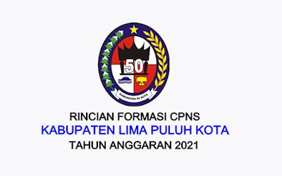 Formasi CPNS Kabupaten Lima Puluh Kota Tahun 2021
