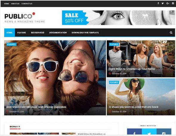 publico-blogger-template
