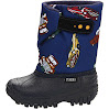 Tundra Teddy 4 Boot (Toddler/Little Kid),Navy/Cars,9 M US Toddler