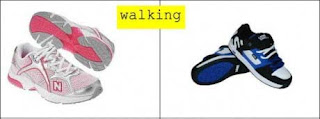 Men and Women Shoes at Different Moments