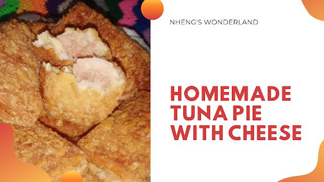 Homemade Tuna Pie with Cheese