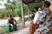 Cegah Kepanikan Warga Binaan, Babinsa Koramil 04/Sawang Terus Sosialisasi Cara Pencegahan Covid-19