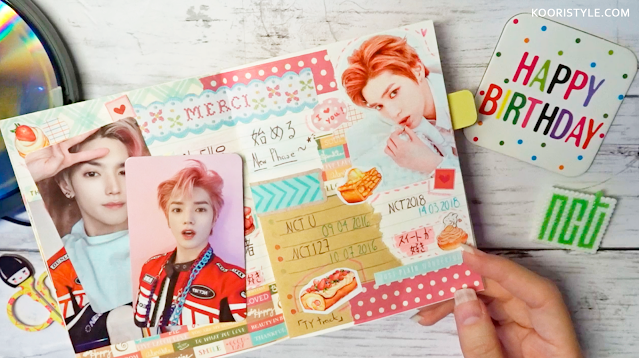 NCT Journal: Taeyong Birthday Deco at http://KooriStyle.com ♥