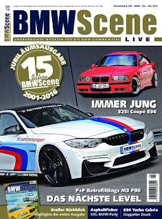 Bavaria Tour 2016 in BMW Scene 04/2016