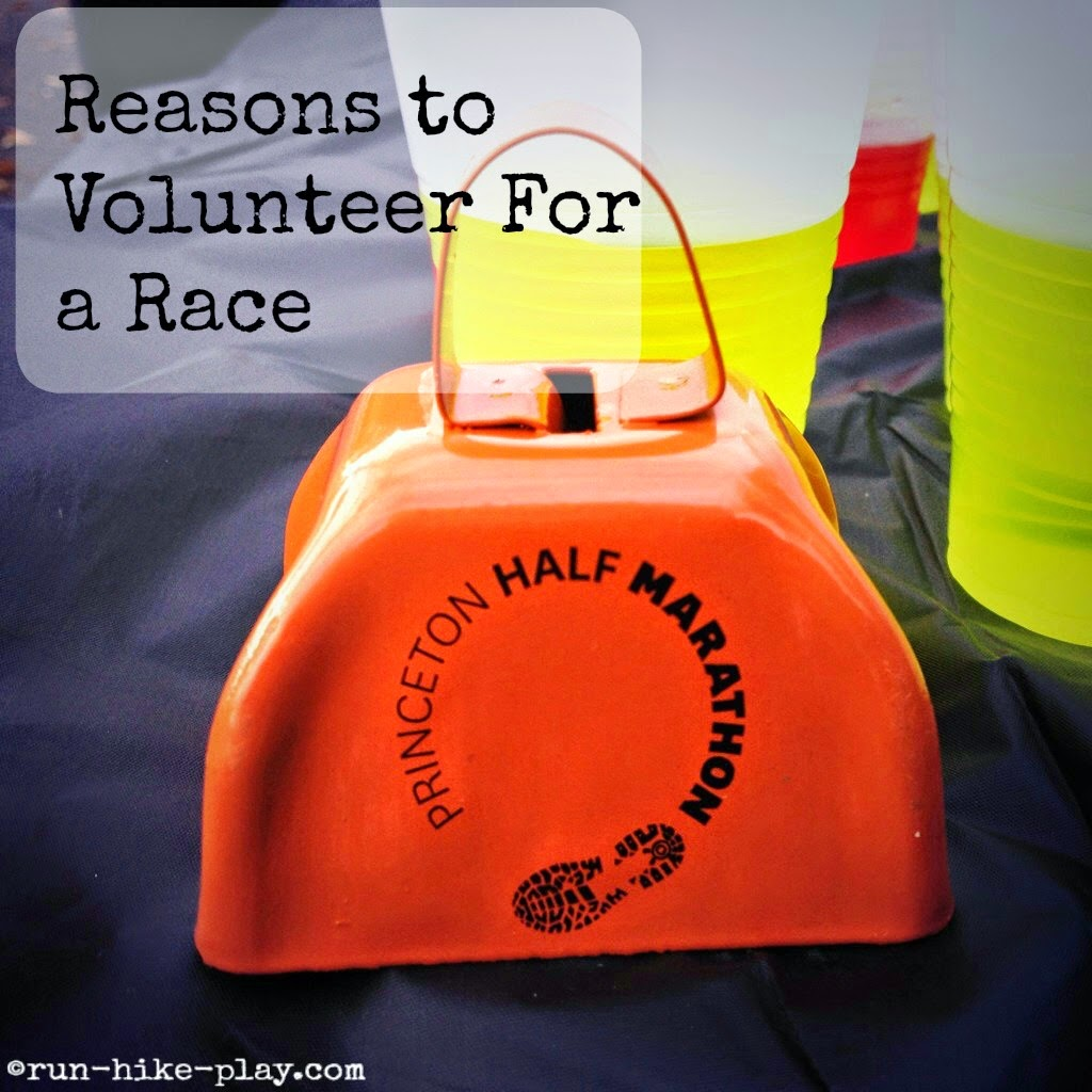 Reasons to volunteer for a race