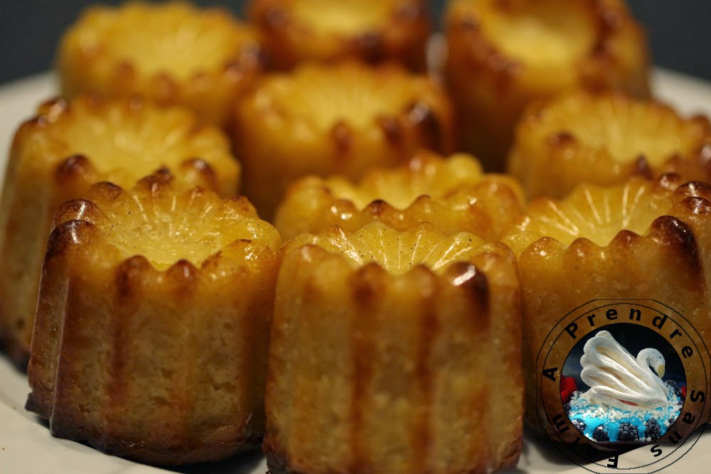 Cannelés (pas à pas en photos)