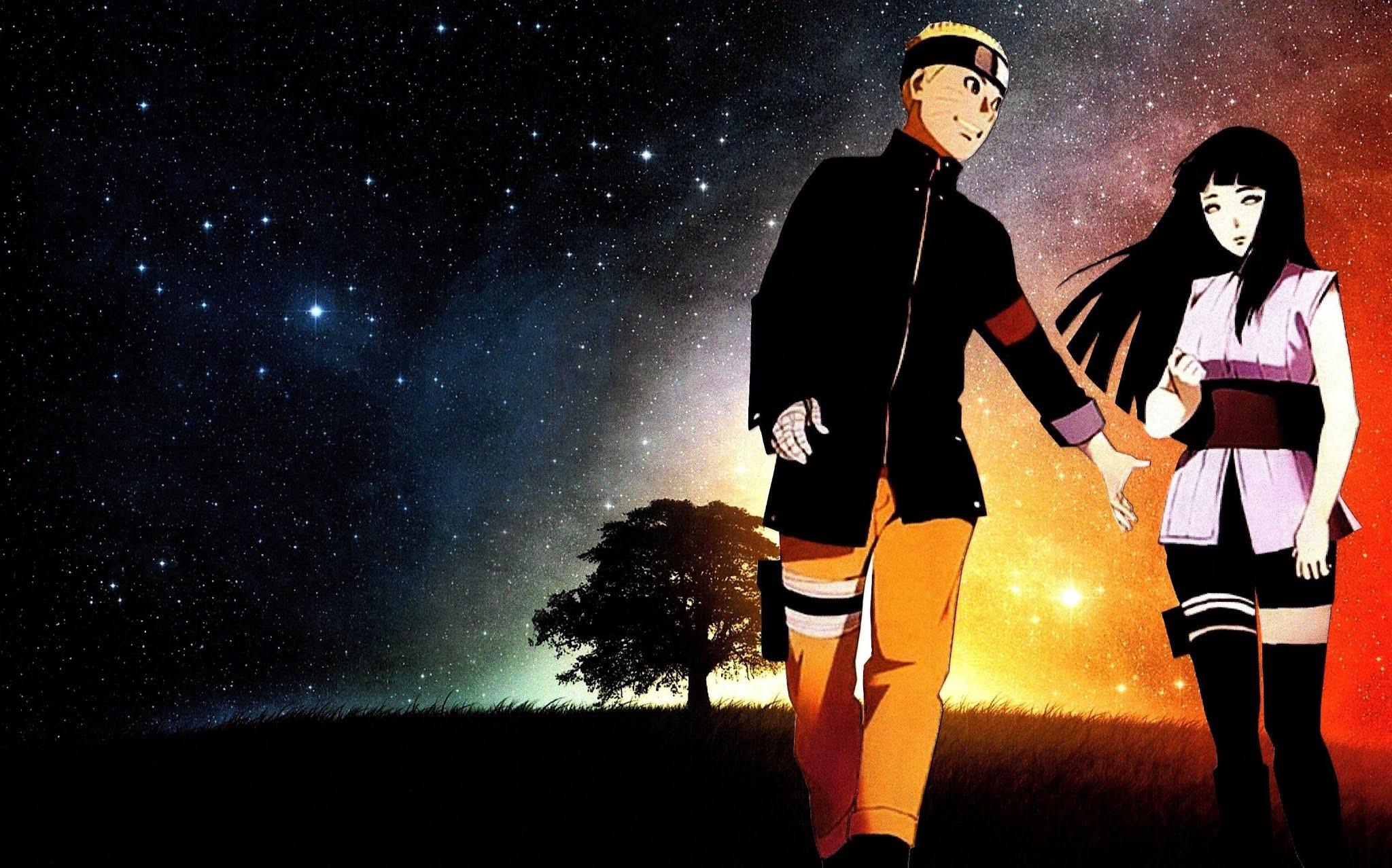 Naruto Uzumaki X Hinata Hyuga wallpaper