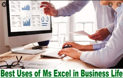Best 8 Uses of MS Excel in Our Daily and Business life