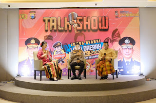 Kabid Humas Polda Sulsel Jadi Narasumber Talk Show Lomba Nyanyi Lagu Daerah