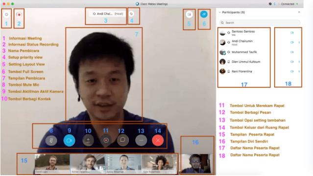 Webex Meetings App Features