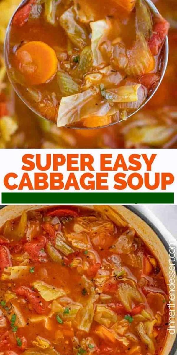 Cabbage Soup #souprecipes