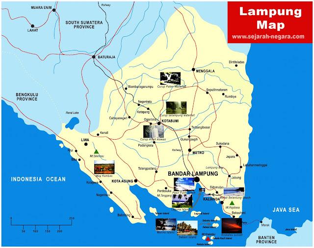 image: Lampung Map High Resolution