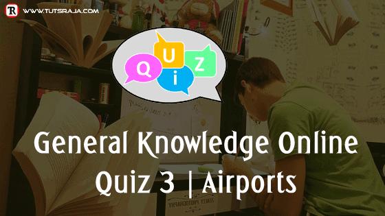 Quiz 3 Airports