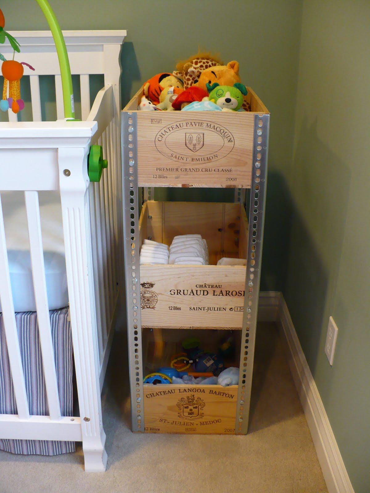 Perfect Pretty Neat Organizer: Wine Crate Shelves GW52