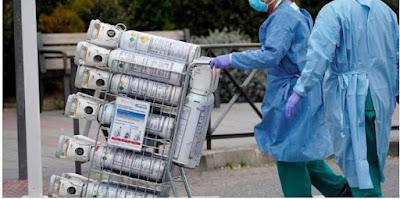 """فضيحة مأساوية بالجزائر: وفاة عدد من مرضى """"كورونا"""" بسبب نفاذ الأكسجين في كل الولايات"""