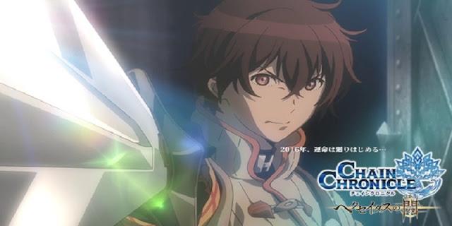 Sinopsis anime Chain Chronicle: Haecceitas no Hikari Part 1 (2016)