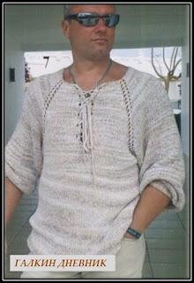 prostoi-pulover-spicami-dlya-mujchin | tricô | tricotare | การถัก