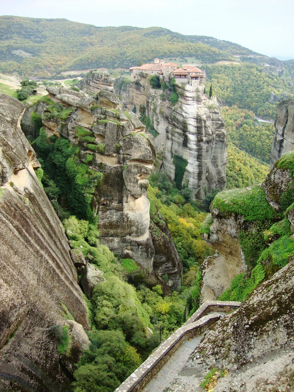 bijuleni, travel, meteora, greece, kalampaka, monastery