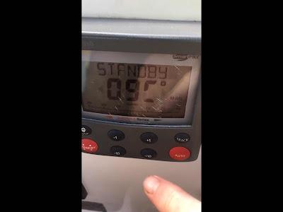 Broken Raymarine autopilot st6002