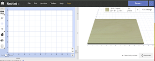 Easel CNC Software work bed