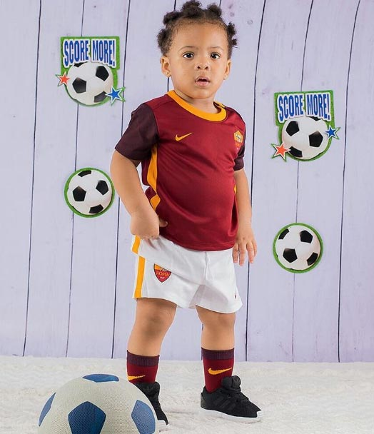 Aww! Birthday girl Sofia Okoli rocks football outfit