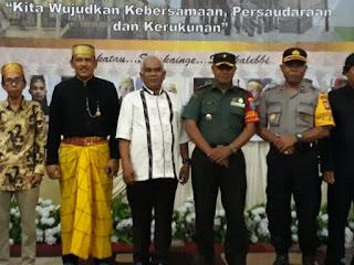 Kapolsek Pontianak Timur hadiri Milad Forum Komunikasi Orang Bugis DPC Pontianak Timur Ke-1