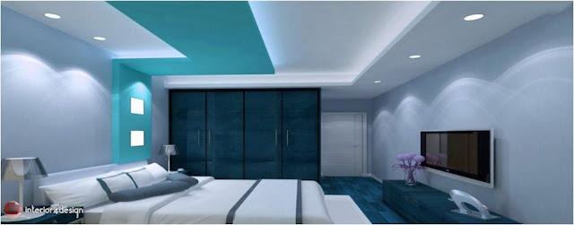 Gypsum Bedroom Designs 2