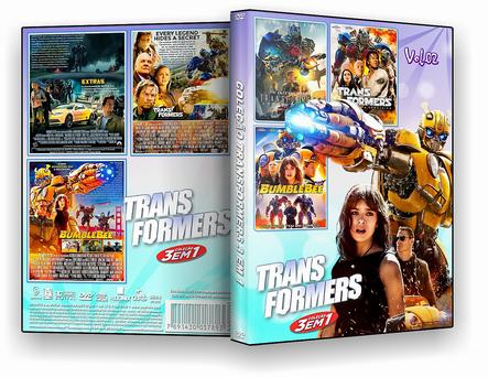 Coleção Transformers 3X1 Vol.02 – ISO