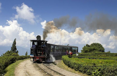 Darjeeling Himalayan Railway, 2ft guauge railway running between new Jalpaiguri and Darjeeling