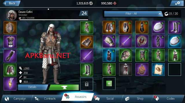 Free Download Assassin's Creed Identity v2.5.1 Apk Terbaru Gratis