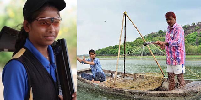MP NEWS: पिता मछली बेचते हैं, बेटी शूटिंग में वर्ल्ड चैपियन @ Bhopal