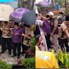 HUT Kota Sungai Penuh  ke 12, Ketua DPRD Fajran Ikuti Ziarah ke Makam Pendiri Kota Sungai Penuh H. Fauzi Siin