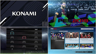 Amazing Graphic Menus For PES 2017 and PES 2018 by Jody