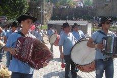 Fotografia de Grupo de tocadores de concertina e cantares ao desafio nas feiras novas de ponte de lima