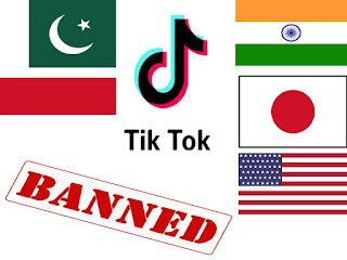 TikTok Banned Country