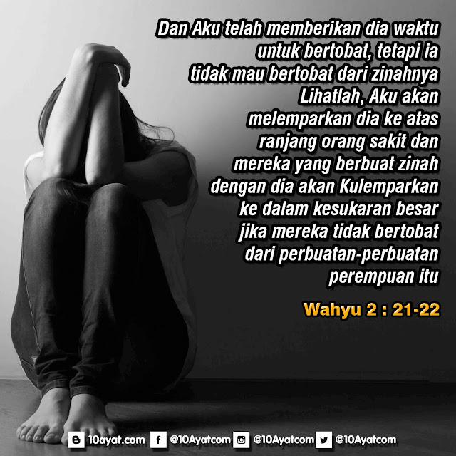 Wahyu 2: 21-22